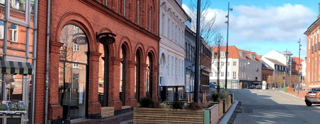 Renovering af Jernbanegade Kolding