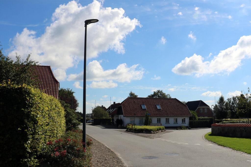 Gadebelysning – Rødding