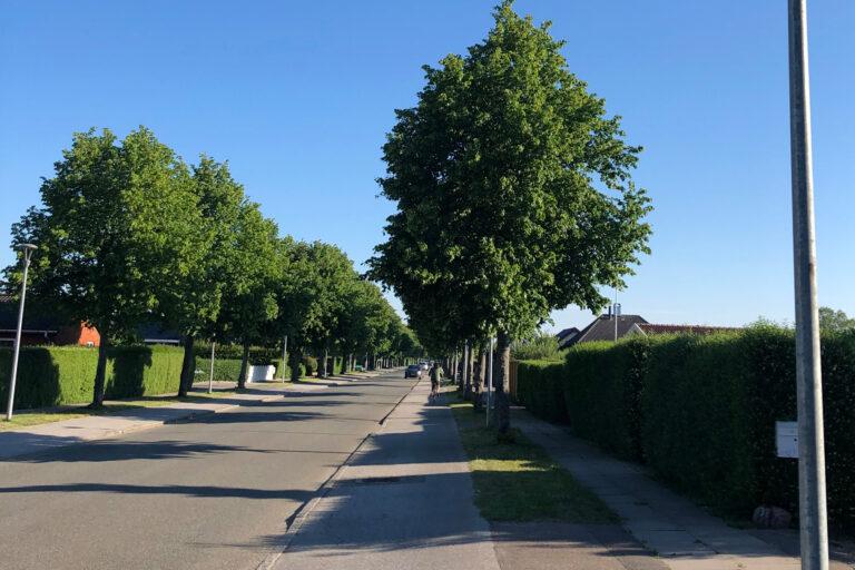 Gadebelysning – Munkebjergvej, Tårnby